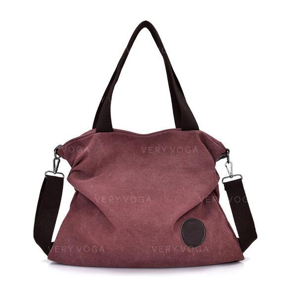 Elegante/Vintage/Simples Bolsas de lona/Bolsas Crossbody
