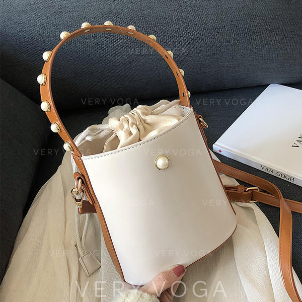 Refined PU Crossbody Bags/Shoulder Bags/Bucket Bags