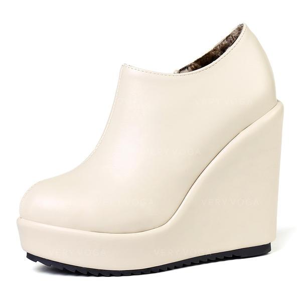 Γοβάκια Πλατφόρμα Κλειστά παπούτσια Σφήνες Με Οι υπολοιποι παπούτσια