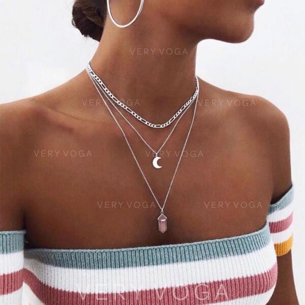 Piękny Modny Seksowny Stop Naszyjniki Biżuteria plażowa