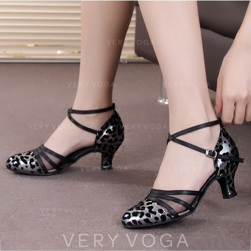 c11ee7c7b Women s Leatherette Suede Heels Ballroom Dance Shoes (053106575 ...