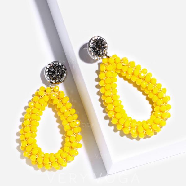 Fashionable Chic Plastic Earrings