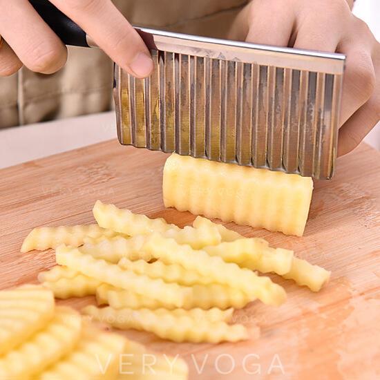 Multifuncional Acero inoxidable Cortadora De Patatas