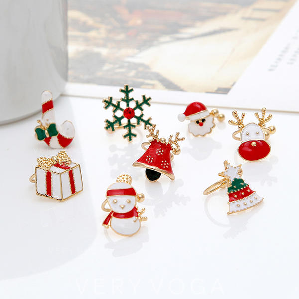 Unique Sexy Exotic Alloy Earrings Christmas Jewelry