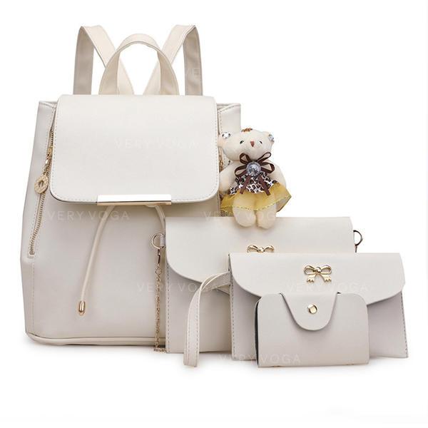 Gorgeous/Solid Color Crossbody Tasker/Bag Sets/Rygsække/Punge & Wristletter