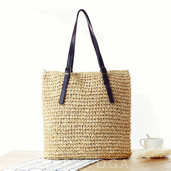 Braided Polyester Tote Bags/Beach Bags