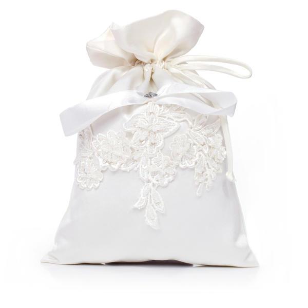 Elegant Satin Bridal Purse