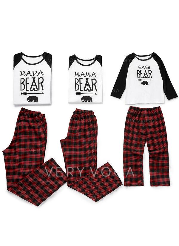Plaid Inmprimé Tenue Familiale Assortie Pyjamas