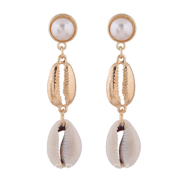 Chic Stylish Shell Alloy Women's Earrings