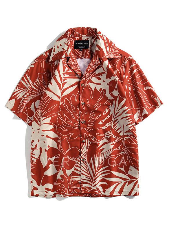Erkeklerin Hawaii Plaj Gömlekleri