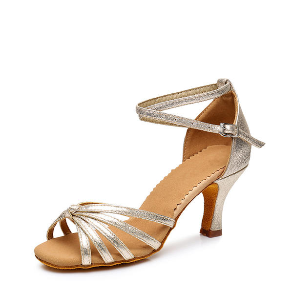 Women's Latin Sandals Leatherette Latin