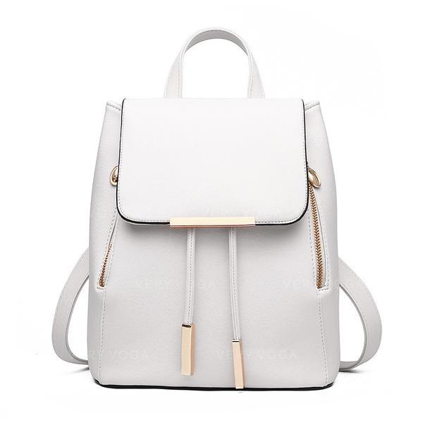 Elegante/Cor sólida mochilas