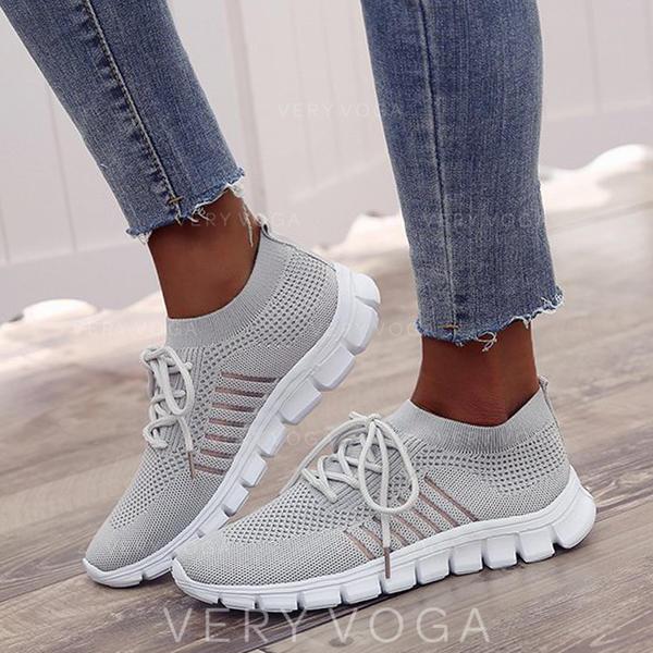 De mujer Malla Casual con Cordones zapatos