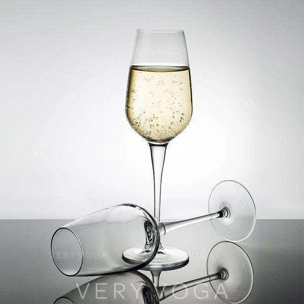 Clássico Vidro taças de champanhe (conjunto De 2)