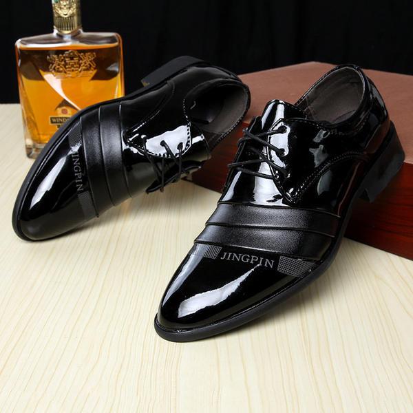 [US$ 16.99] Herren Microfaser Leder Flache Schuhe Latin Moderner Style Tanzschuhe VeryVoga