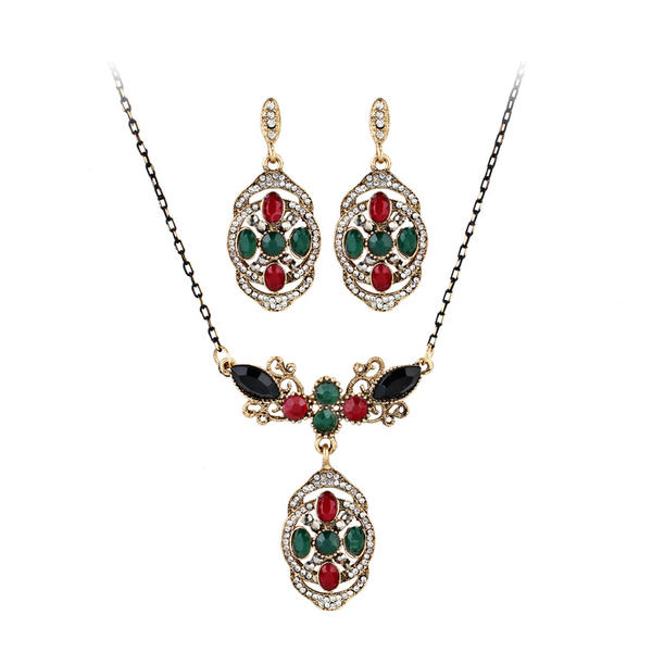 Fashionable Exotic Alloy Necklaces Earrings