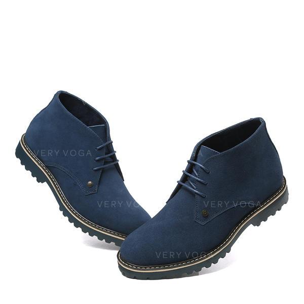 930b30e51 [US$ 51.99] Chelsea Avslappet Egte Lær Menn Boots til herre - VeryVoga
