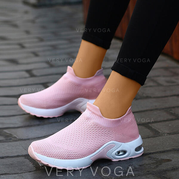 Kvinnor Duk Fritids utomhus Atletisk med Andra skor