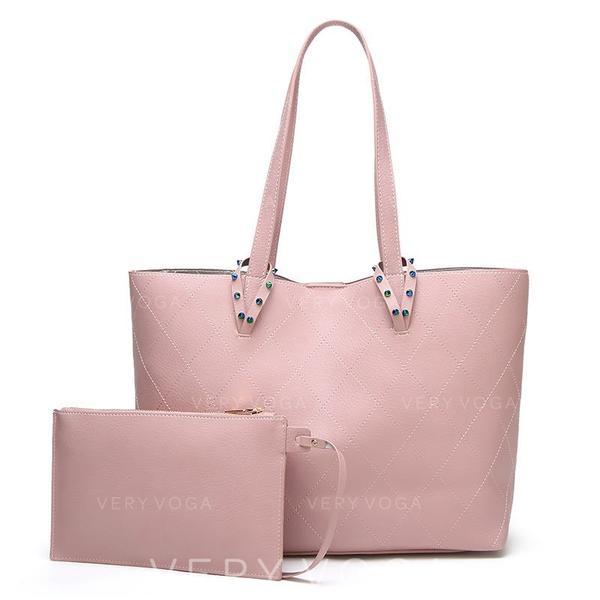 Elegant PU Tote Bags/Shoulder Bags/Bag Sets
