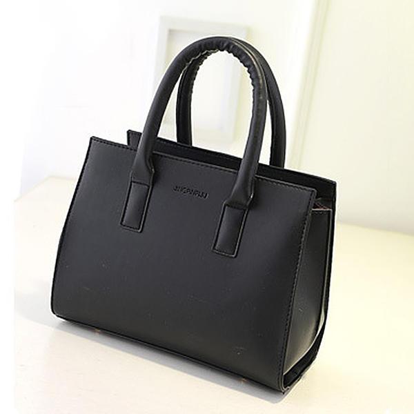 Zarif/Koyu renk PU omuz çantası/Omuz çantaları