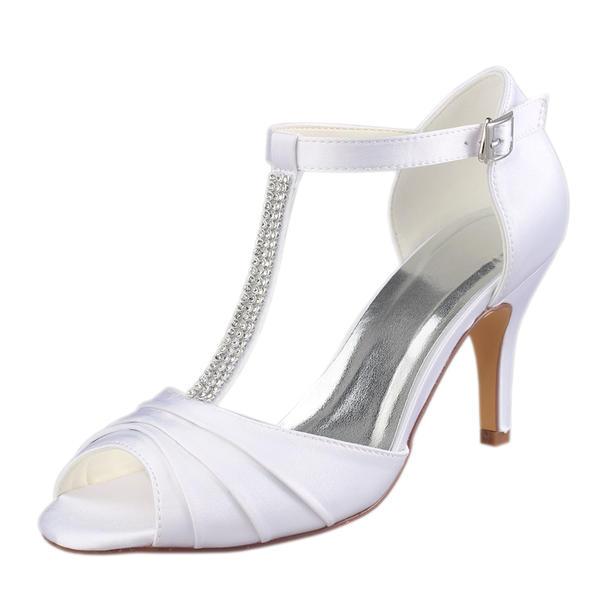 c40992a91c94 Women's Plastics Stiletto Heel Peep Toe Pumps With Animal Print Applique
