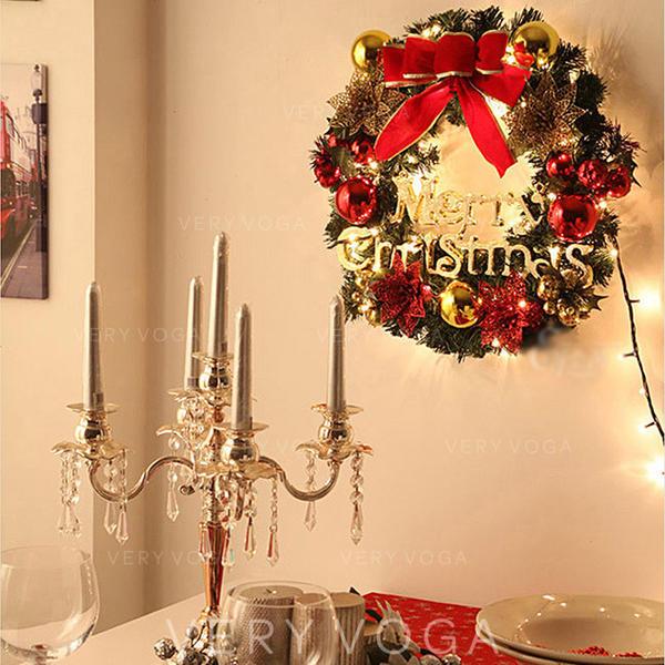 Merry Christmas PVC Christmas Décor Christmas Wreath