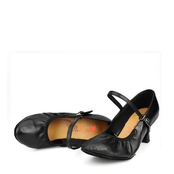 pacchetto elegante e robusto immagini ufficiali lussureggiante nel design [US$ 23.99] Donna Vera pelle Stiletto Sala da ballo Swing Scarpe  Personaggio Scarpe da ballo - VeryVoga