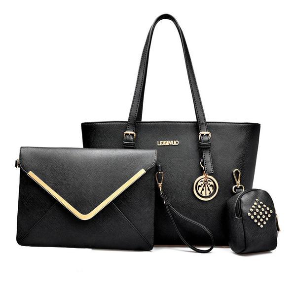 Classique/Raffiné PU Sacs fourre-tout/Ensembles de sac/Portefeuilles et Bracelets