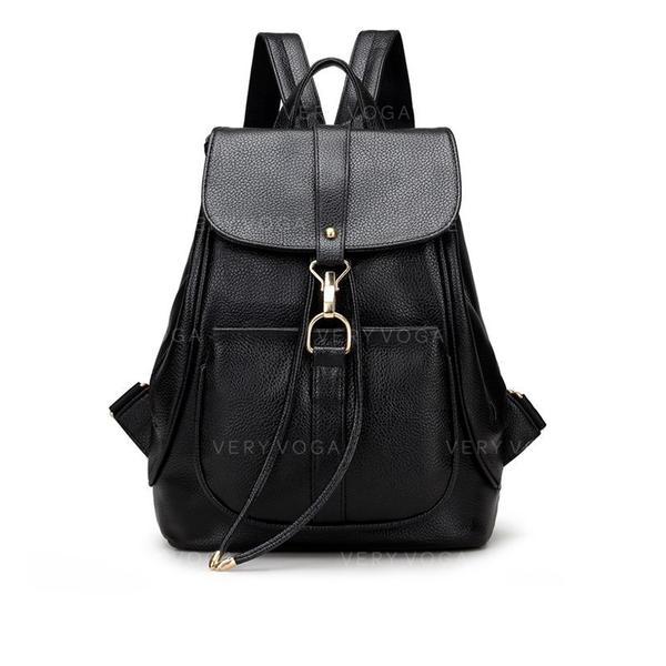 Único/Elegante/Cor sólida mochilas