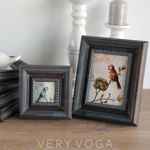 Vintage Classic Wood Photo Frame