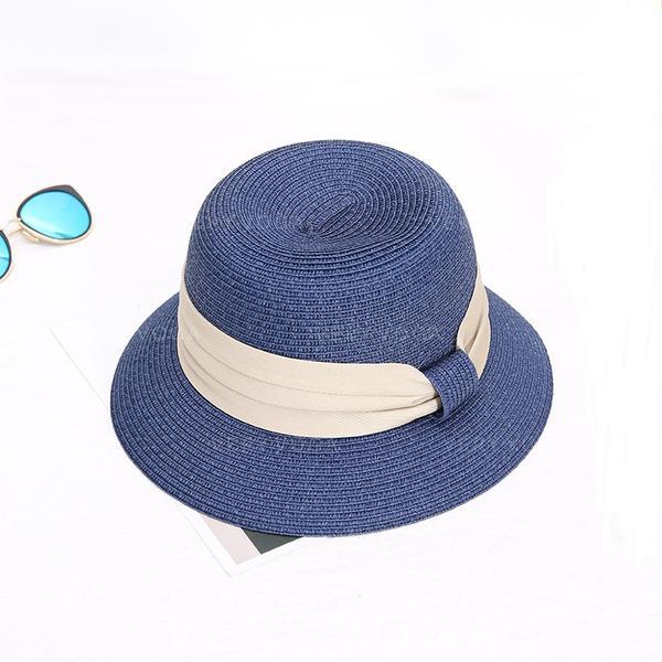 Ladies' Hottest Raffia Straw With Bowknot Straw Hats/Beach/Sun Hats
