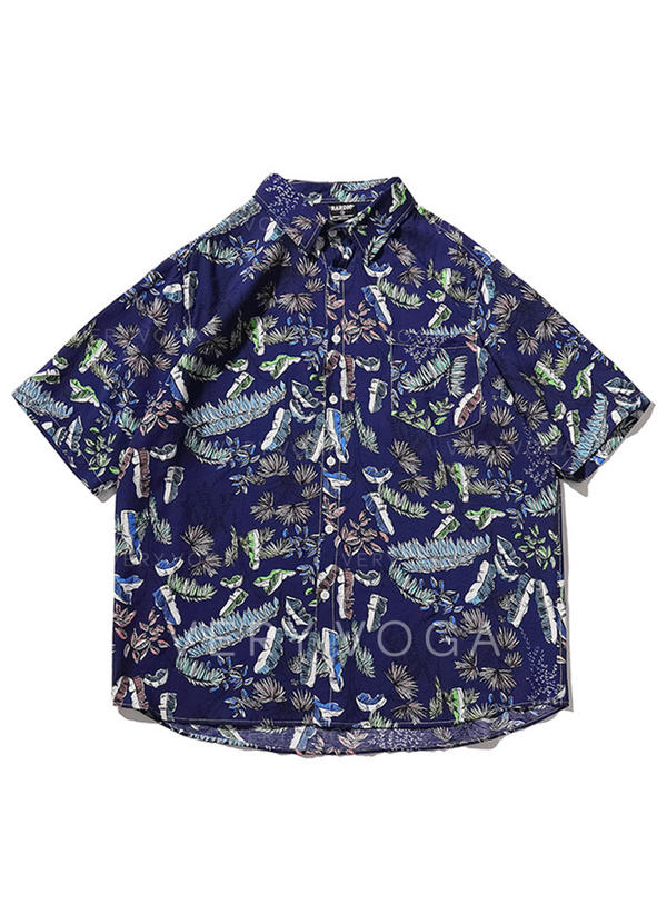 Men's Hawaiian Beach Shirts