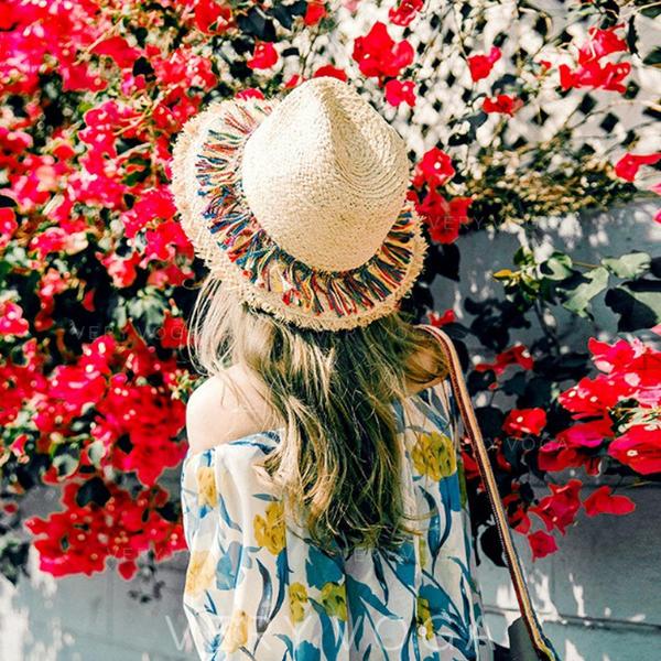 Ladies' Hottest Salty Straw Straw Hats/Beach/Sun Hats