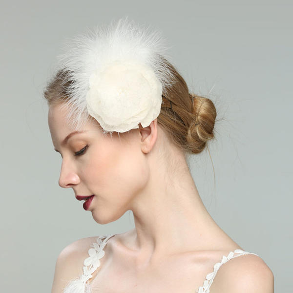 Glamourous Elegant Simple Eye Catching Fancy Romantic Artistic Feather With Fascinators 196171297