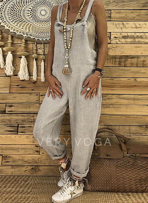 bfb0645f369 Solid Sleeveless Maxi Casual Dresses (199240338) - Dresses -  240338 ...