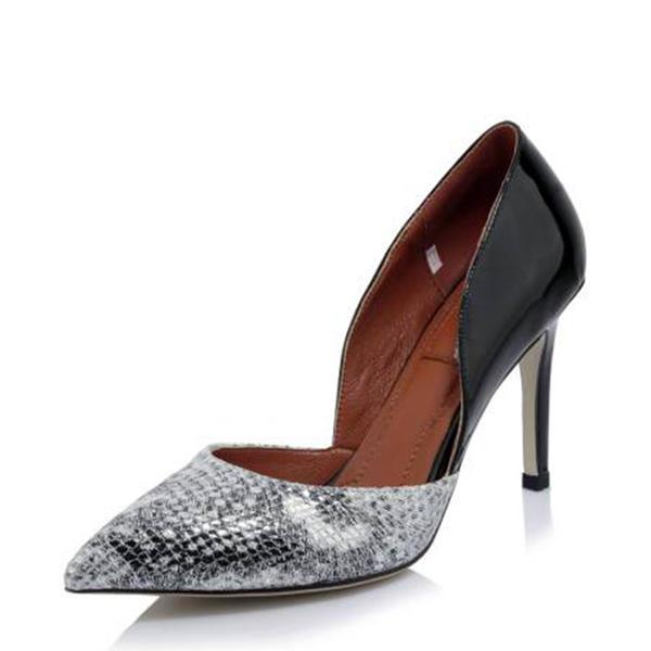 b2550c7f314 Για Γυναίκες Πραγματικό δέρμα Τακούνι Στιλέτο Γόβες Κλειστά Toe Με Άλλο  παπούτσια