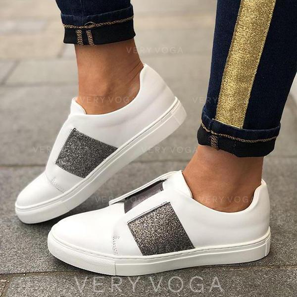 Bayanlar PU gündelik Dış mekan atletik Yürüyüş Ile Toka ayakkabı