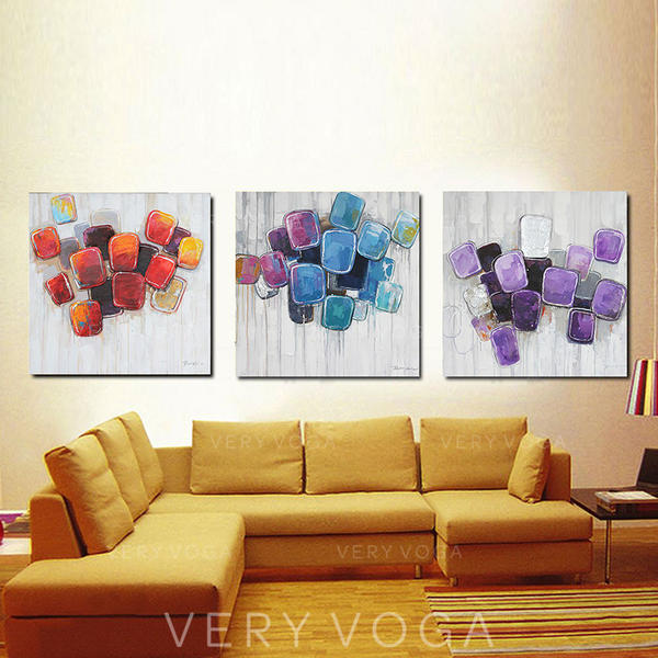 Modern Rectangle Abstract Paintings