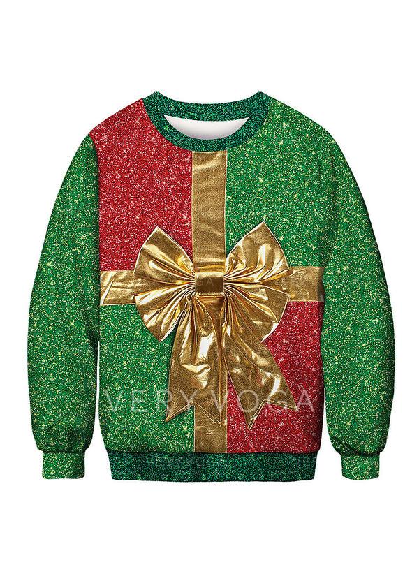 f1f2cced8551 Γυναικεια Πολυεστέρας Τυπώνω Κουρελού Ράψτε τη βαφή Χριστουγεννιάτικο  μπλουζάκι
