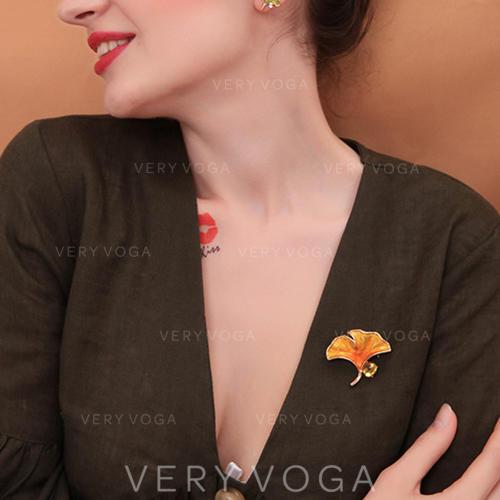 Einzigartig Legierung Frauen Mode-Broschen