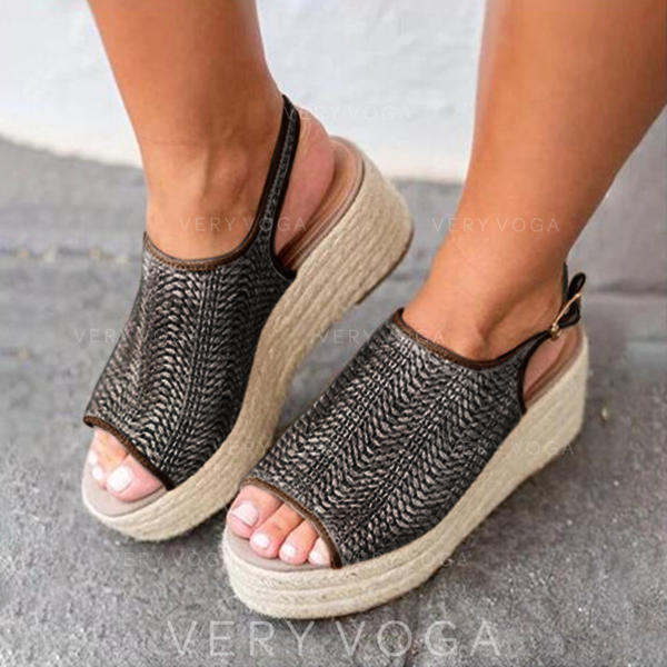 Women's Corn Bran Wedge Heel shoes