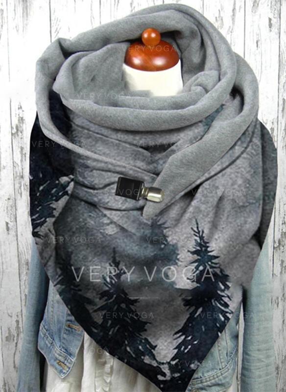 Impresión moda/Cálido Bufanda