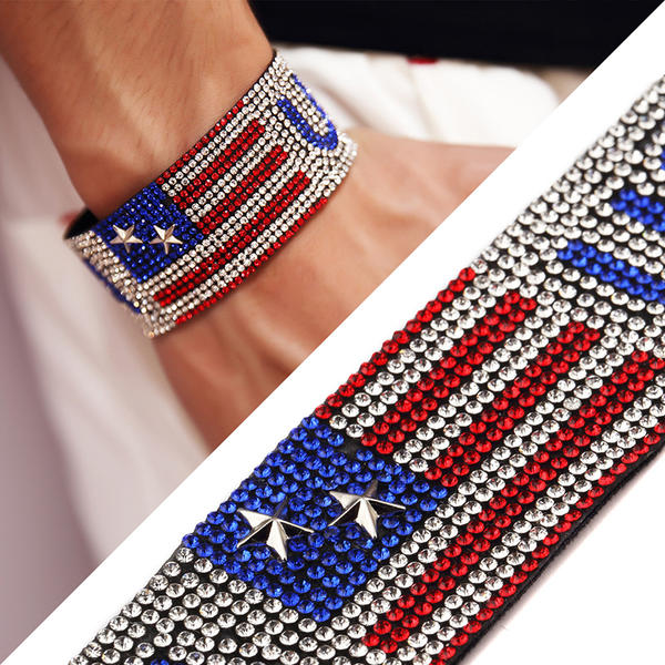 Moda Aleación Diamantes de imitación con Rhinestone Señoras' Pulseras de Moda