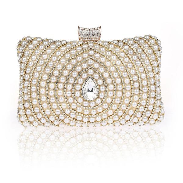 Elegant Imitation Pearl Clutches