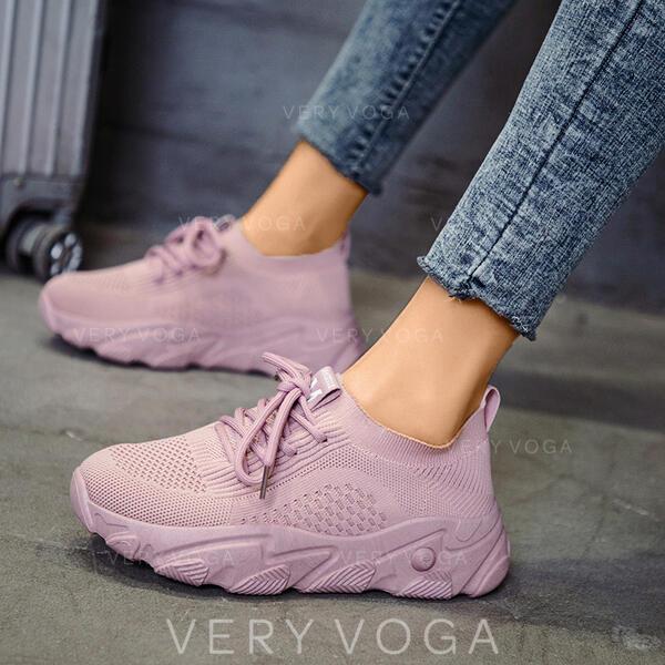 Femmes Tissu Mesh Décontractée De plein air avec Élastique chaussures