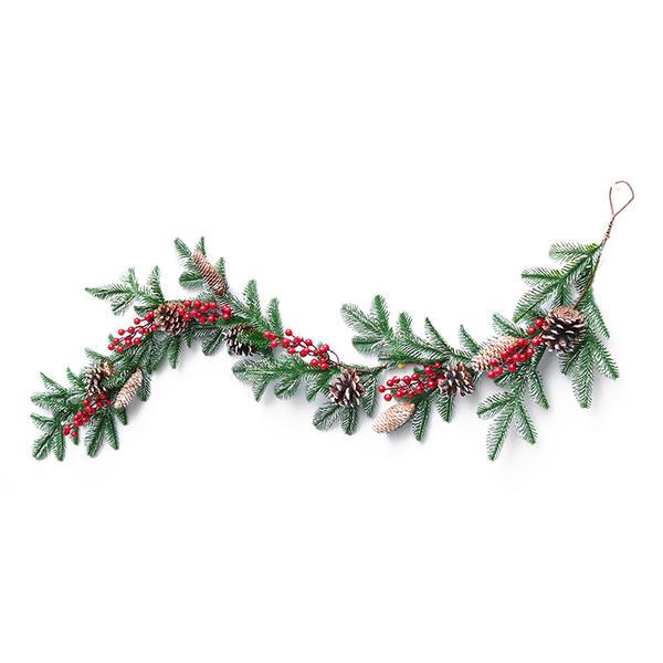 Feliz Navidad PVC Decoración navideña Guirnalda