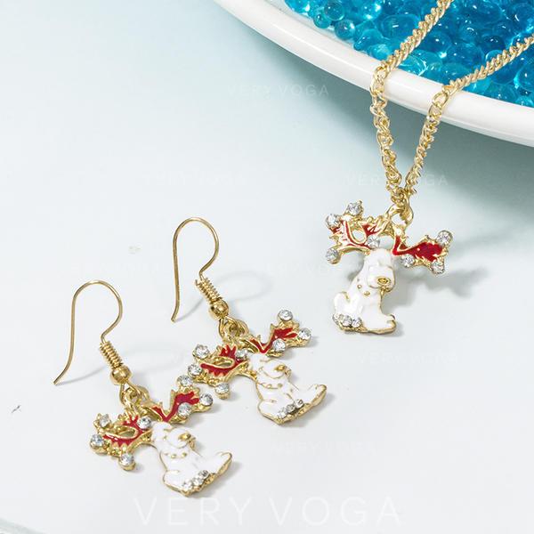 Unicorn Alloy Jewelry Sets Christmas Jewelry (Set of 2)