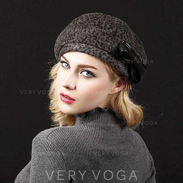 Ladies ' Moda/Elegancki Poliester/Akryl Beret Hat