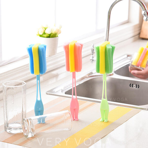 Moderno PP Esponja Escova de limpeza esponja (Conjunto de 3)