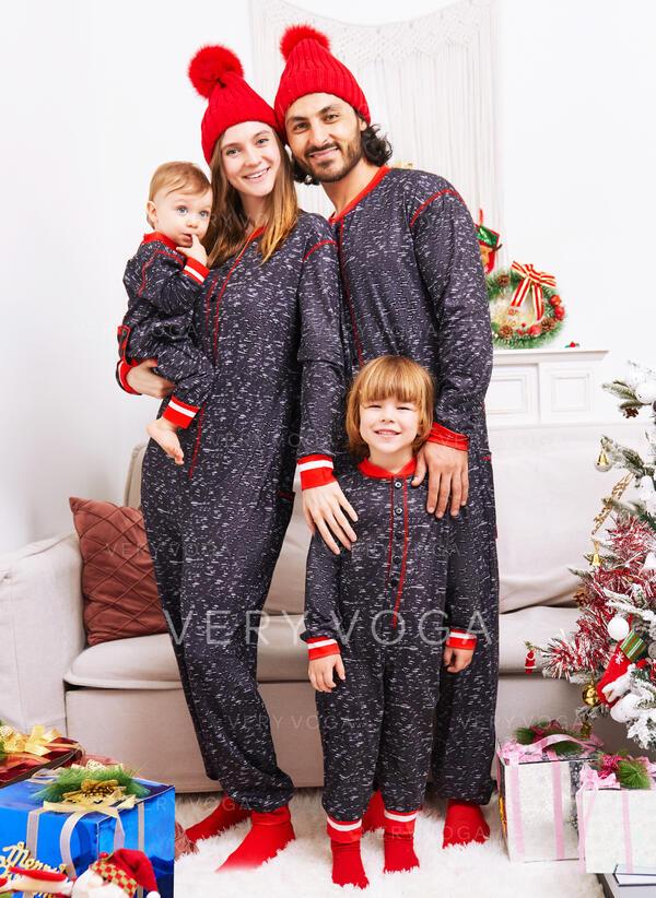 Rena Xadrez Carta Estampado Família Combinando Natal Pijama
